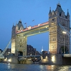 London Tower Bridge Evening View