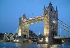 London Tower Bridge Evening View