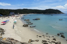 Long Beach View At Perhentian Kecil Island
