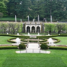 Main Fountains At Longwood Gardens