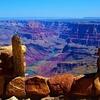 Looking Down Grand Canyon AZ