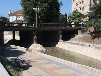 Luda Mara River Flowing Through Kavadarci
