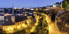 Luxembourg City Night