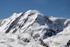 Lyskamm Summit & Grenz Glacier - Swiss Alps