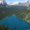 Lake O Hara From Yukness Ledge Alpine Route