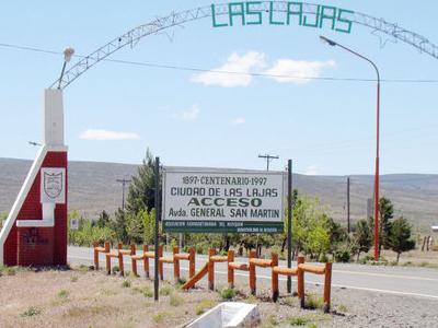 Las Lajas Argentina Entrance