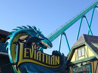 Leviathan Roller Coaster