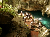 Los Tres Ojos Cave