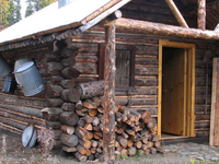 Lower East Fork Ranger Cabin No. 9