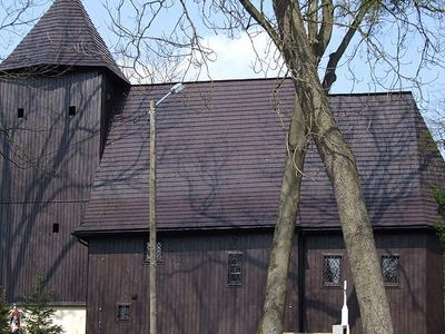 Maciejów's Wooden Church Poland