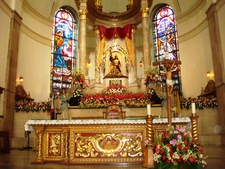Main Altar Of The Church