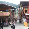 Main Street Shuzheng Tibetan Village