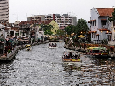Malacca River - Old City Centre