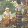 Mango Harvest By Amorsolo