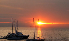 Sunset At Manila Bay