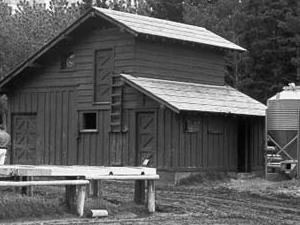 Many Glacier Barn and Bunkhouse