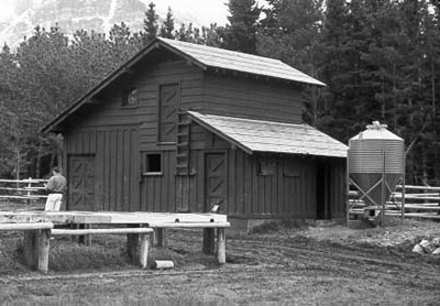 Many Glacier Barn and Bunkhouse