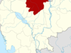 Map Of Cambodia Highlighting Preah Vihear