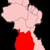 Map Of Guyana Showing Upper Takutu Upper Essequibo Region
