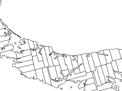 Map Of Prince Edward Island Highlighting Lot 60