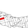 Map Of Prince Edward Island Highlighting Lot 25