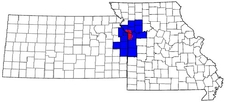 Map Of The Kansas City Metropolitan Area
