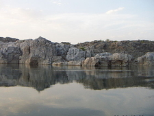 Marble Rocks Alongside Narmada River