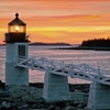 Marshall Point Lighthouse In Maine