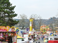 Amusement Park at Prague Fairground