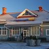 Marsta Railway Station