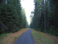 McDonald Creek Bike Path - Glacier - Montana - USA