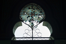 Medan Mosque Stained Glass - Sumatra
