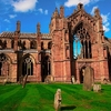 Melrose Abbey - Scotland UK