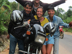 Motorcycle to Mekong Delta