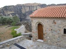 Meteora - Holy Trinity Complex Views