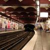 Line 3 Platforms At Opéra