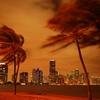 Miami FL - Biscayne Bay - Night View