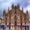 Milan Cathedral On A Rainy Day