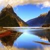 Mitre Peak In Fiordland - Southland NZ