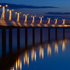 The Pier In Plock At Night