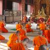 Monks In Wat Phra Singh