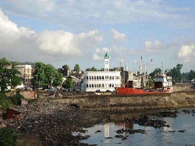 Moroni Mosque With Harbor Bay