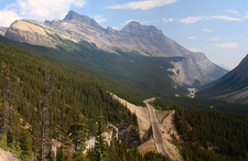 Mountain Landscape In Banff National Park
