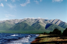 Mountains At The Banks Of The Baikal