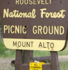 Mount Alto Picnic Area