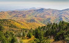 Mount Mitchell - South Toe - Blue Ridge Mountains NC