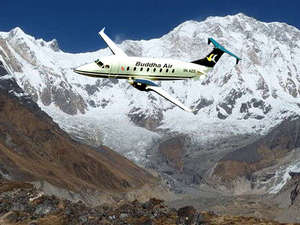 Everest Mountain Flight Photos
