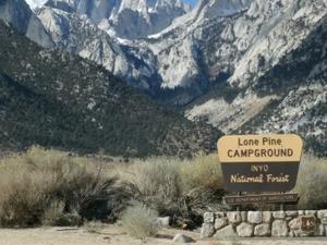 Mt. Whitney Trailhead Campground