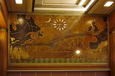 Mural In The Main Dining Room