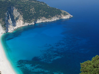 Myrtos Beach